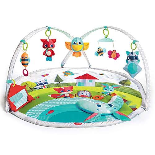 Tiny Love 3333120501 Dynamic Gymini Meadow Days, Spieldecke mit Spielzeug-Rekorder, sowie Musik- & Lichteffekten, mehrfarbig