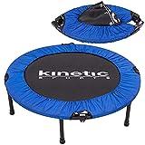 Kinetic Sports Fitness Trampolin, TOP Marke Testbild Auszeichnung!, Indoor Minitrampolin, Sprungtraining, Smart Jumping Workout, platzsparend faltbar,...