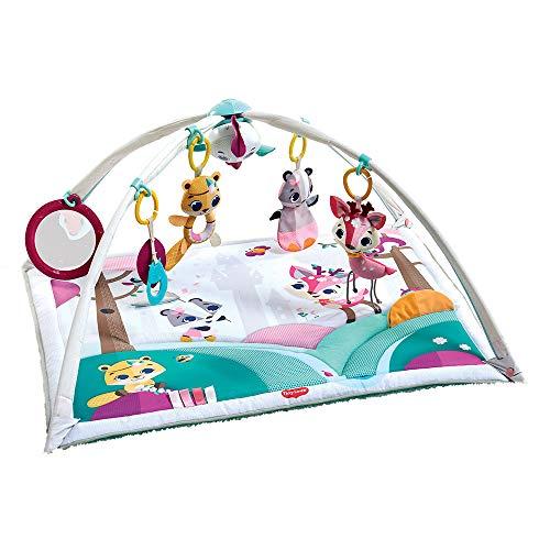 Tiny Love Baby Spieldecke Gymini Deluxe, Tiny Princess Tales, Krabbeldecke mit verstellbaren Spielbögen, nutzbar ab der Geburt (0M+), 88 x 78 cm,...