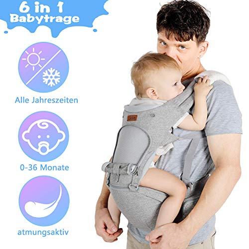 Beste 6-in-1 Babytrage