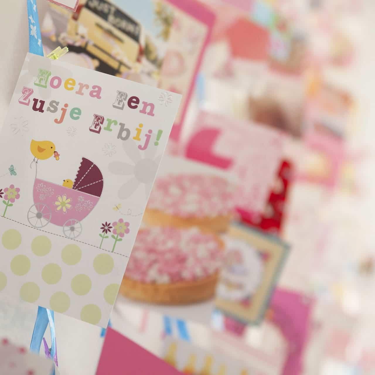 Babygeburtstagskarten designen
